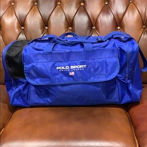 Polo Sport Ralph Lauren large duffel bag